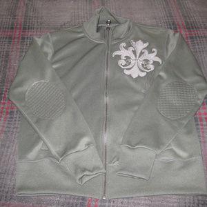 Monarchy Green Track Jacket_Men's Size Medium